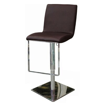 Whiteline Imports Gia Adjustable Height Swivel Bar Stool