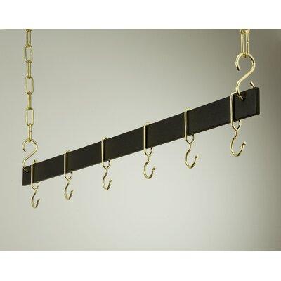 Rogar Gourmet Hanging Bar Pot Rack & Reviews | Wayfair