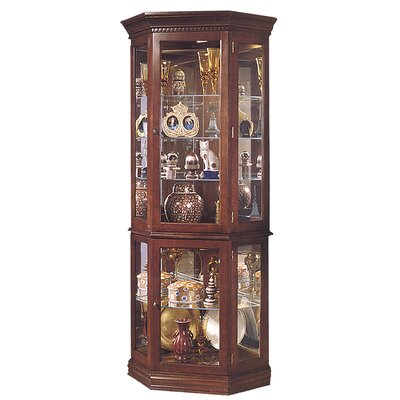 Jasper Cabinet Lorraine Corner Curio Cabinet