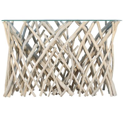 Ibolili Natural Branch Console Table