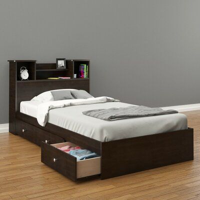 Nexera Pocono Platform Bed with Storage