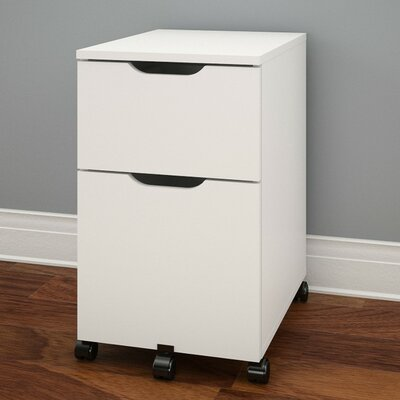Nexera Arobas 2-Drawer Mobile Vertical File