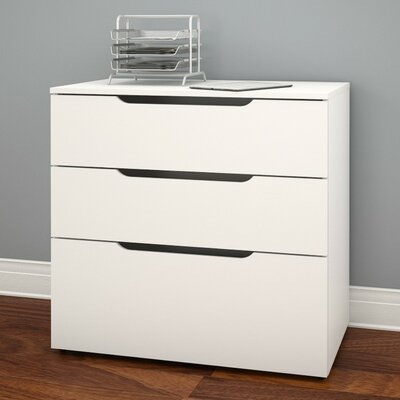 Nexera Arobas 3-Drawer Lateral File