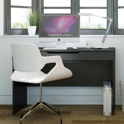 Latitude Run Darla Computer Desk with Retractable Shelf