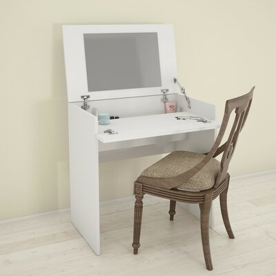 Latitude Run Britt Vanity with Mirror