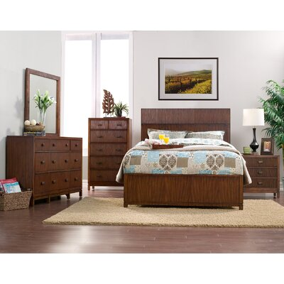 Origins by Alpine Loft Queen Panel Customizable Bedroom Set