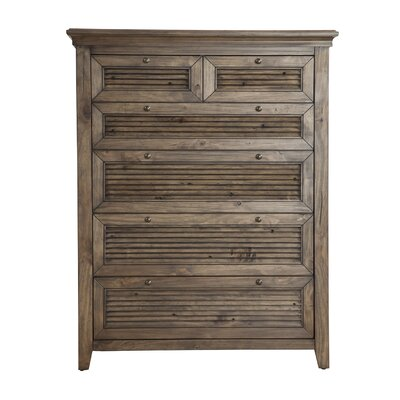 Alcott Hill Pomfret 6 Drawer Chest