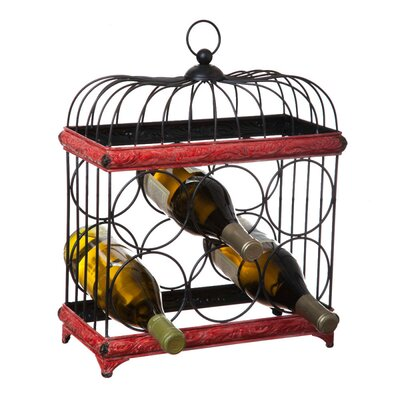 Cape Craftsmen Bird Cage 6 Bottle Tabletop Wine Rack