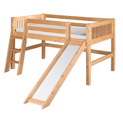 Camaflexi Twin Low Loft Bed
