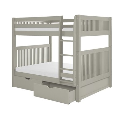 Camaflexi Full Over Full Bunk Bed with Drawer
