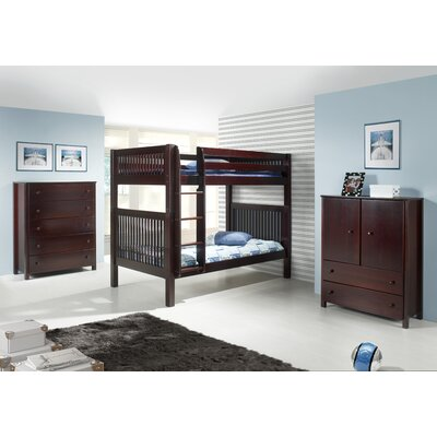Camaflexi Full Standard Bed Customizable Bedroom Set