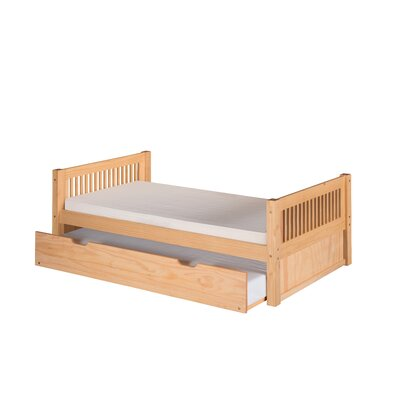 Camaflexi Twin Slat Bed with Trundle