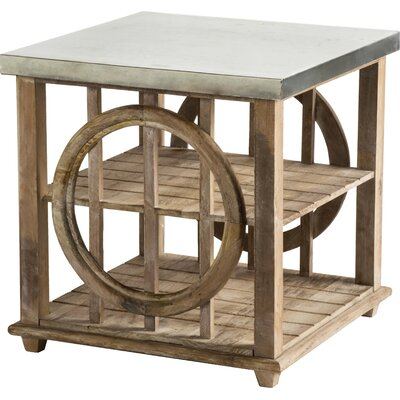 Statements by J Galia End Table