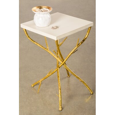 Statements by J Maggy Branch End Table