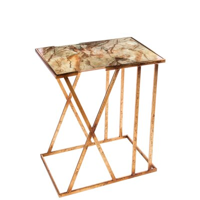 Statements by J Karla End Table