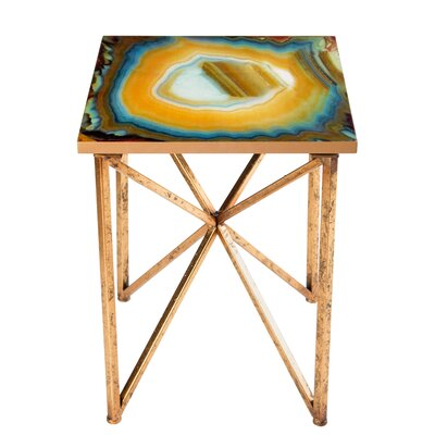 Statements by J Or Agate End Table