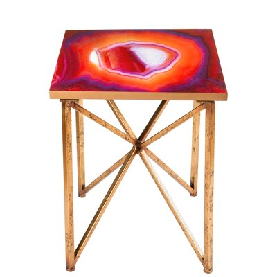 Statements by J Rouge End Table