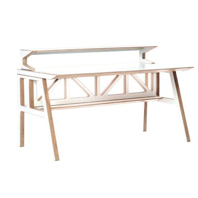 Context Furniture Truss Library Writing Desk