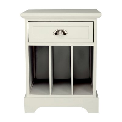 Gallerie Decor Newport Partitioned End Table