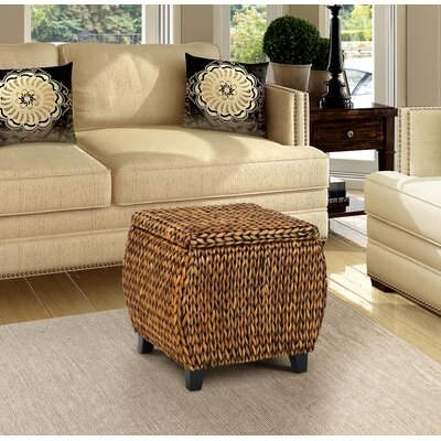 Gallerie Decor Bali Breeze Storage Ottoman
