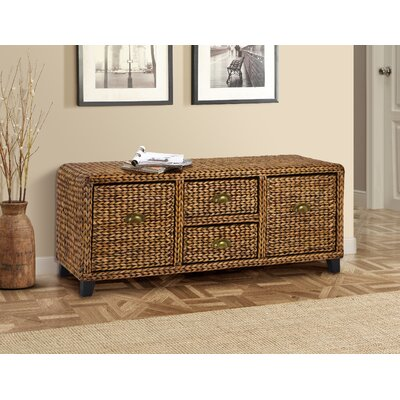 Gallerie Decor Bali Breeze Wood Storage E..