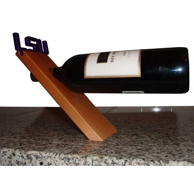Fan Creations NCAA Floating Stand 1 Bottle Tabletop Wine Rack