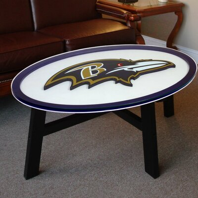 Fan Creations NFL Logo Coffee Table Image