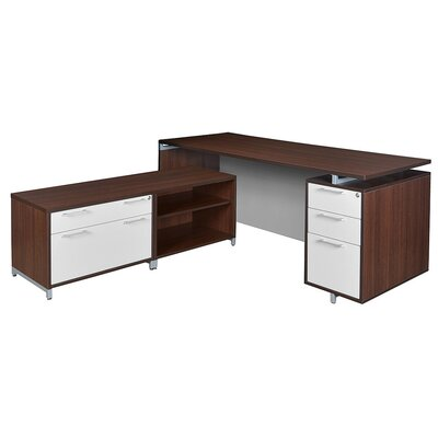Regency OneDesk 2-Piece L-Shape Desk Offi..