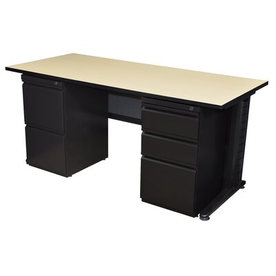 Regency Fusion Double Pedestal Executive Desk