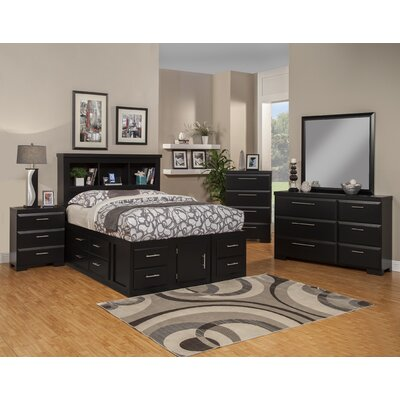Sandberg Furniture Serenity Platform Customizable Bedroom Set