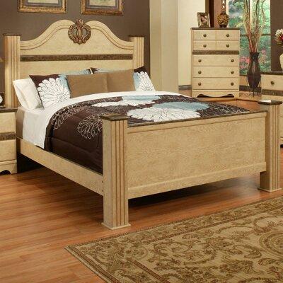 Sandberg Furniture Casa Blanca Panel Bed