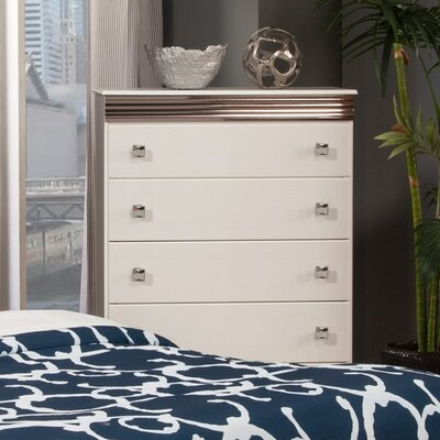 Sandberg Furniture Celeste 5 Drawer Chest