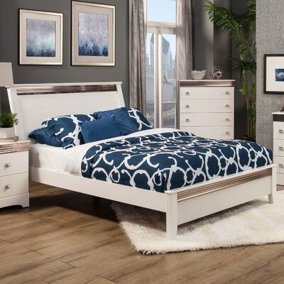 Sandberg Furniture Celeste Panel Bed