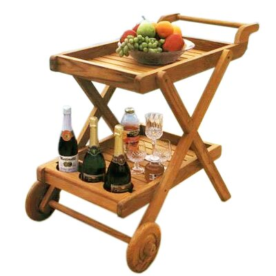 D-Art Collection Buttlers Serving Cart