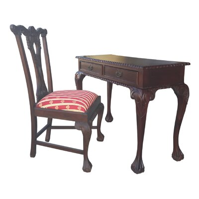 D-Art Collection England Writing Desk and England Side Chair