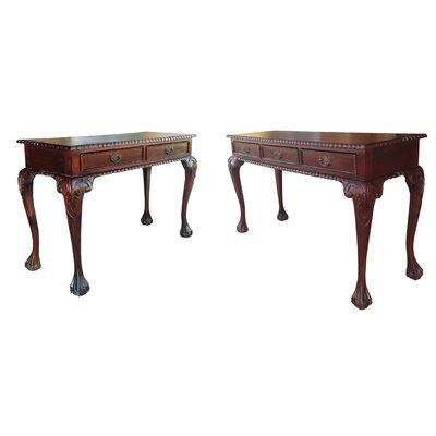 D-Art Collection England 2 Piece Writing Desk Set