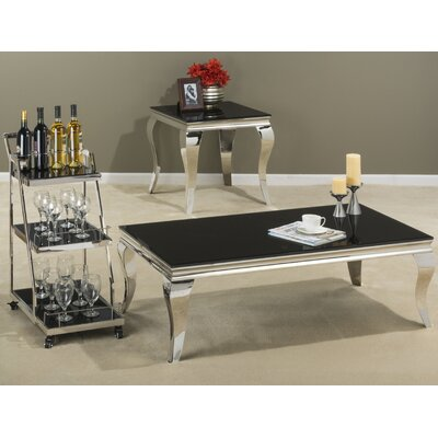 Jofran Tuxedo Coffee Table Set