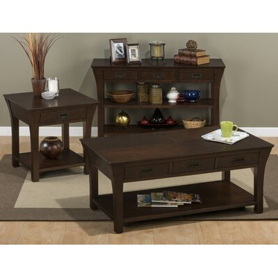 Jofran Artisan Coffee Table Set