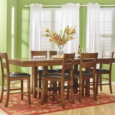 Jofran Plantation 7 Piece Dining Set