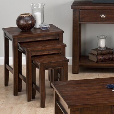 Jofran Urban Lodge 3 Piece Nesting Tables