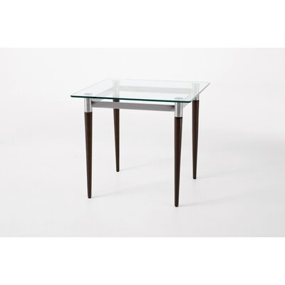 Lesro Siena Series End Table Glass Top