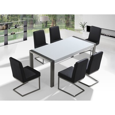 Wade Logan Justice 7 Piece Dining Set