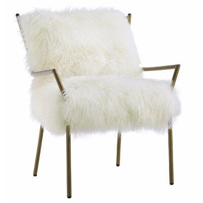 Mercer41 Schulen Sheepskin Arm Chair