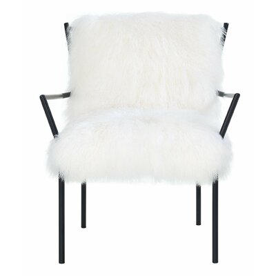 Mercer41 Oakham Sheepskin Armchair