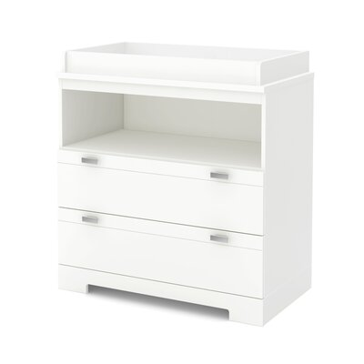 South Shore Reevo 2 Drawer Changing Table