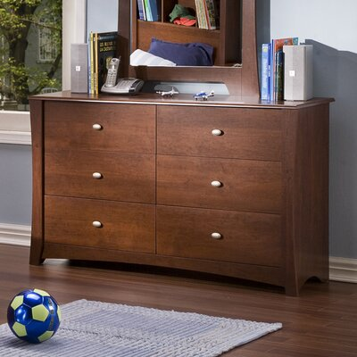 South Shore Jumper 6 Drawer Double Dresser
