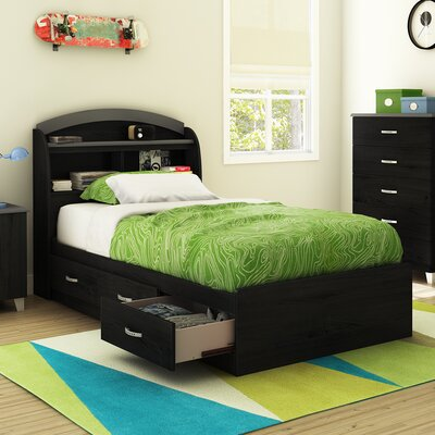 South Shore Lazer Twin Mate's Bed with Stor..