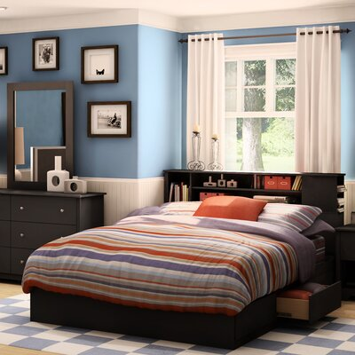 South Shore Vito Queen Storage Platform Bed