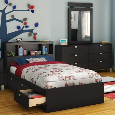 South Shore Spark Twin Mate's Bed with ..