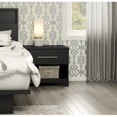 South Shore Primo 1 Drawer Nightstand
